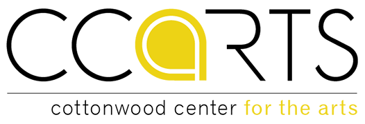 Logo for Cottonwood Center for the Arts
